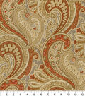 Waverly Multi-Purpose Décor Fabric 9\u0022x9\u0022 Swatch-Knightsbridge Amber