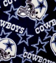 Dallas Cowboys Fleece Fabric -Tossed, , hi-res
