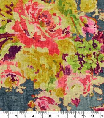 Covington Multi-Purpose Decor Fabric 55''-Charcoal Zoe