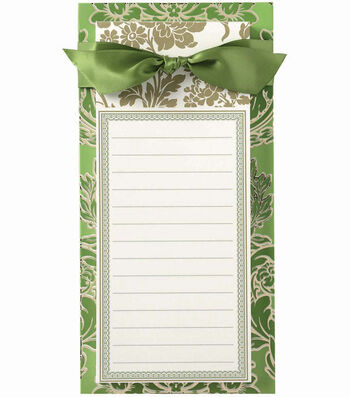 Anna Griffin Green Solid List Pad
