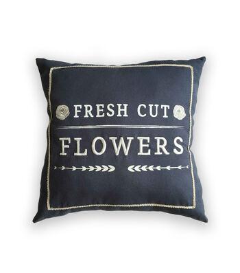 Simply Spring Pillow-Fresh Cut Flowers