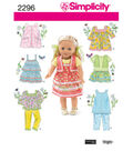 Simplicity Pattern 2296OS One Size -Simplicity Crafts