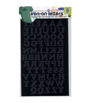 Dritz 0.75'' Iron-on Cooper Letters