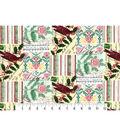 Christmas Cotton Fabric-Christmas Cardinal Patch