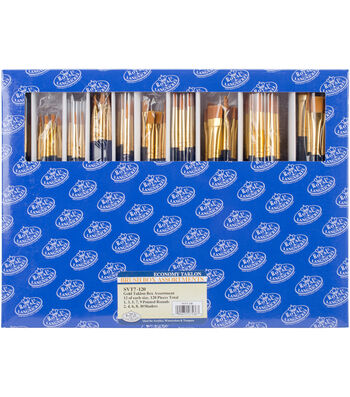 Taklon Boxed Brush Set 120 Pack