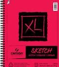 Canson XL 9\u0027\u0027x12\u0027\u0027 100 Sheets Spiral Sketch Pad