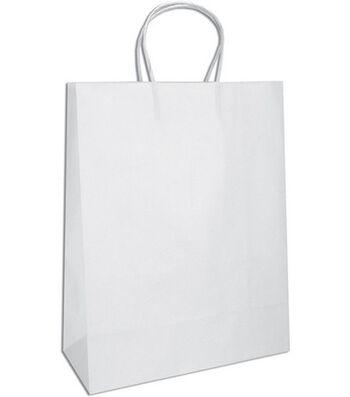 Tinted Kraft Bags Medium W/Handle