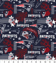 New England Patriots Cotton Fabric-Hometown, , hi-res