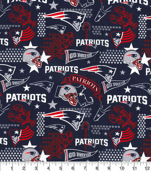 New England Patriots Cotton Fabric-Hometown