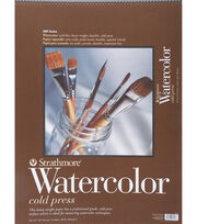 "Strathmore Cold Press Watercolor Paper Pad 18""X24"", , hi-res"