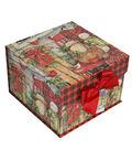 Maker\u0027s Holiday Medium Mini Fliptop Storage Box-Beautiful Blessings