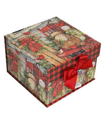 Maker's Holiday Medium Mini Fliptop Storage Box-Beautiful Blessings