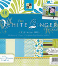 DCWV 12\u0022x12\u0022 White Ginger Stack