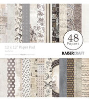 Kaisercraft Pen & Ink 48-sheets 12''x12'' Paper Pad, , hi-res