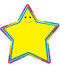 Star Accents 36/pk, Set Of 6 Packs