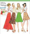Simplicity Patterns Us8019H5-Simplicity Misses\u0027 Vintage 1970\u0027S Skirts-6-8-10-12-14
