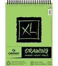 Canson XL 11\u0027\u0027x14\u0027\u0027 60 Sheets Top Bound Drawing Pad