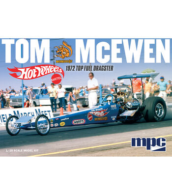 MPC Tom Mongoose McEwen 1972 Top Fuel Dragster 1:25 Scale Model Kit