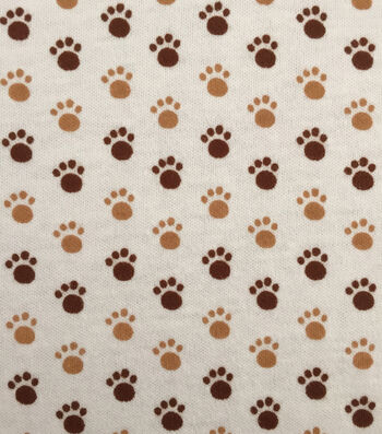 Doodles Juvenile Apparel Fabric -Puppy Paws