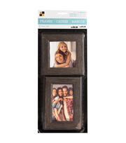 Die Cuts with a View 2 pk Wood Letterboard Frames-Gray, , hi-res