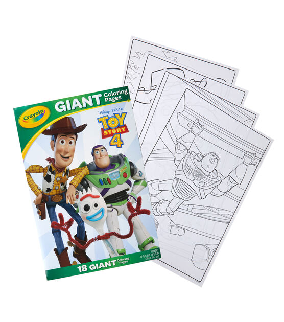 crayola giant coloring pages toy story 4 joann crayola giant coloring pages toy story 4