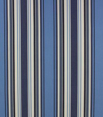 Optimum Performance Multi-Purpose Decor Fabric 54''-Ocean Stripes