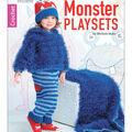 Monster Playsets Crochet Book