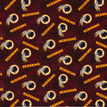 NFL Washington Redskins Tie Dye Flannel