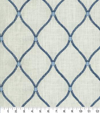 "Home Decor 8""x8"" Fabric Swatch-Deane Emb Porcelain"