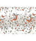 Sp Animal Butterfly Natural Stretch Chif