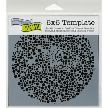"Crafter's Workshop Templates Microbial 6"" x 6"""