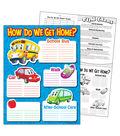 How Do We Get Home? Learning Chart 17\u0022x22\u0022 6pk