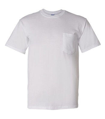 Gildan Adult Pocket T-shirt Medium