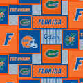 Florida Gators Fleece Fabric-College Patches