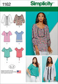 Simplicity Pattern 1162H5 6-8-10-12--Tops Vest Jkts Co