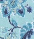 Anti-Pill Fleece Fabric -Marina Paisley & Floral