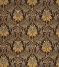 Home Decor 8\u0022x8\u0022 Fabric Swatch-Print Fabric Eaton Square Reuben Chocolate