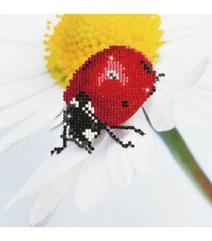 "Diamond Embroidery Facet Art Kit 9.7""X9.7""-Daisy Lady"