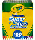 Crayola Super Tips Washable Markers-100 Pack