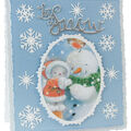 Tonic Studios Essentials Christmas Sentiments Die-Let It Snow