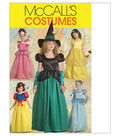 McCall\u0027s Pattern M5494-Children\u0027s/Girls\u0027 Princess and Witch Costumes