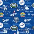 Los Angeles Dodgers Cotton Fabric-Stadium