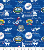 Los Angeles Dodgers Cotton Fabric-Stadium, , hi-res