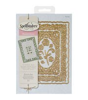 Spellbinders Nestabilities Decorative Elements Dies-Romantic Rose, , hi-res
