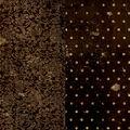 BoBunny Double Dot Vintage Double-Sided Cardstock 12\u0022X12\u0022-Coffee