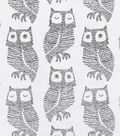 Snuggle Flannel Fabric -Dotted Owls