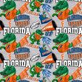 University of Florida Gators Cotton Fabric-Collegiate Mascot