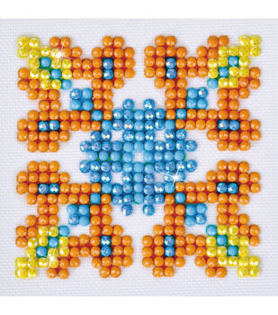 Diamond Dotz Diamond Embroidery Art Kit 4.75''X4.75''-Autumn Mandala 2