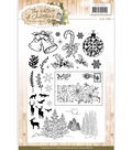 Precious Marieke the Nature of Christmas 28 pk Clear Stamps