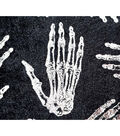 The Witching Hour Halloween Velvet Fabric 57\u0022-Skeleton Hands